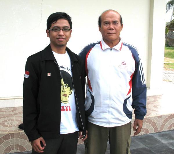 Bersama dengan Bupati Lombok TImur 2012